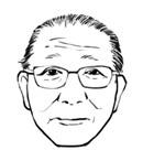 山中社長|似顔絵