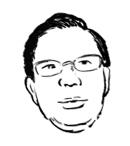 ヨシカワさん似顔絵